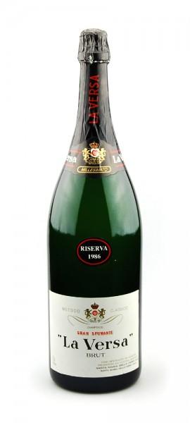 Wein 1986 Gran Spumante Riserva Brut La Versa