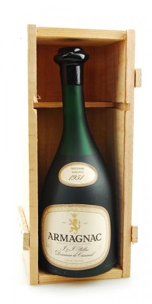 Armagnac 1951 Armagnac Pallas in Holzkiste