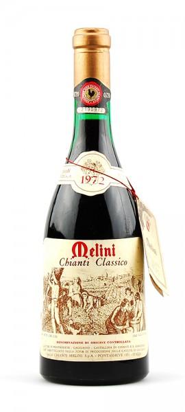 Wein 1972 Chianti Classico Melini