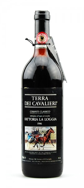 Wein 1981 Chianti Classico Fattoria La Loggia II