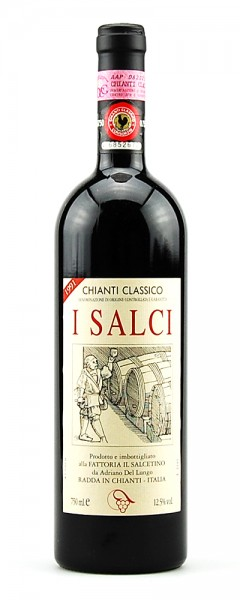 Wein 1991 Chianti Classico I Salci Salcetino
