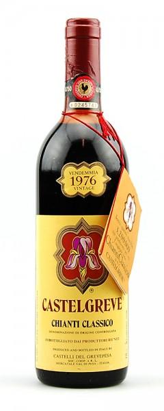 Wein 1976 Chianti Classico Castelgreve