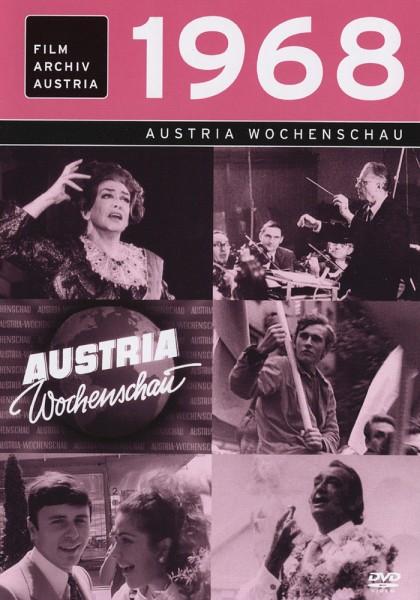 DVD 1968 Chronik Austria Wochenschau in Holzkiste