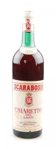 Wein 1958 Chiaretto del Lago Riserva Scarabosio