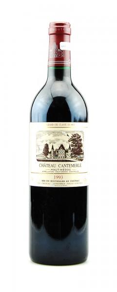 Wein 1993 Chateau Cantemerle 5eme Grand Cru Classe