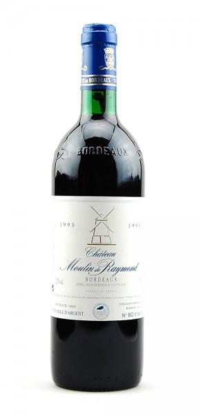 Wein 1995 Chateau Moulin de Raymond