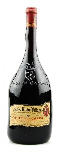 Wein 1964 Cotes du Rhone Chateau de la Gardine MAGNUM