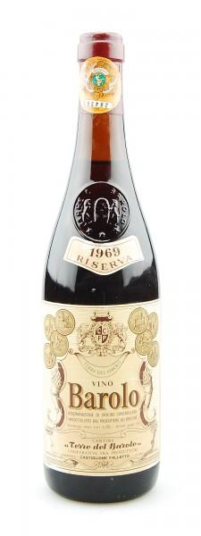 Wein 1969 Barolo Terre del Barolo Riserva