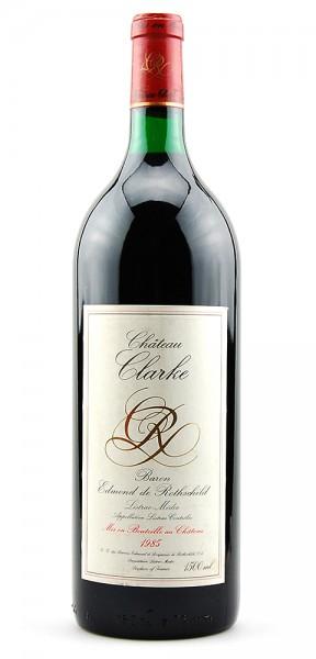 Wein 1985 Chateau Clarke Edmond de Rothschild 1,5 L