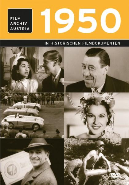 DVD 1950 Chronik Austria Wochenschau in Holzkiste