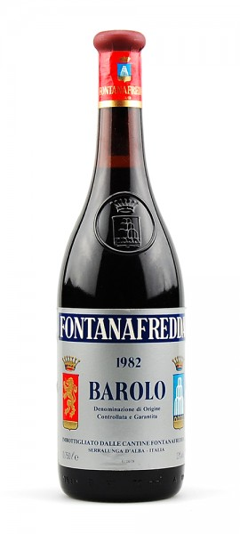 Wein 1982 Barolo Fontanafredda