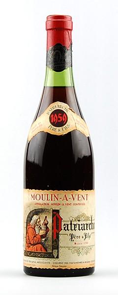 Wein 1959 Patriarche Pere & Fils Moulin-a-Vent