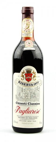 Wein 1977 Chianti Classico Pagliarese Riserva