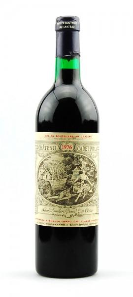 Wein 1976 Chateau Cadet-Piola Grand Cru Classe