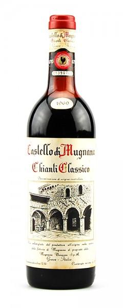Wein 1969 Chianti Classico Castello di Mugnano