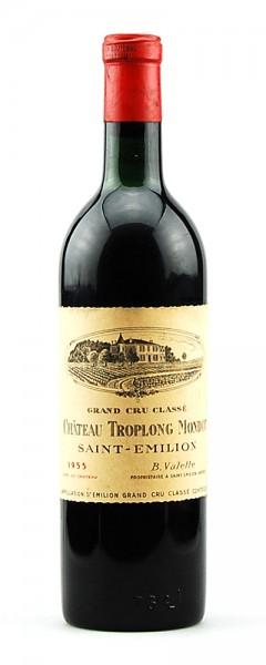 Wein 1955 Chateau Troplong Mondot 1eme Grand Cru