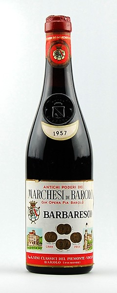 Wein 1957 Barbaresco Marchesi di Barolo