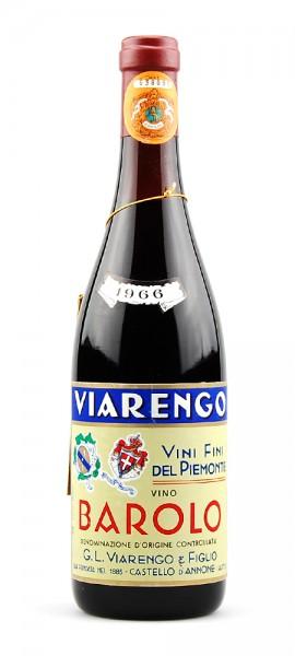 Wein 1966 Barolo G.L. Viarengo & Figli