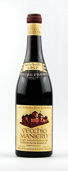 Wein 1967 Vecchio Maniero Marchesi di Barolo