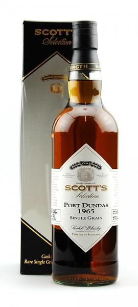 Whisky 1965 Port Dundas Single Grain Scotch Whisky