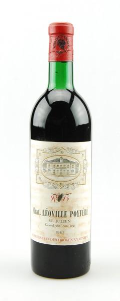 Wein 1967 Chateau Leoville Poyfere 2eme Cru St.Julien