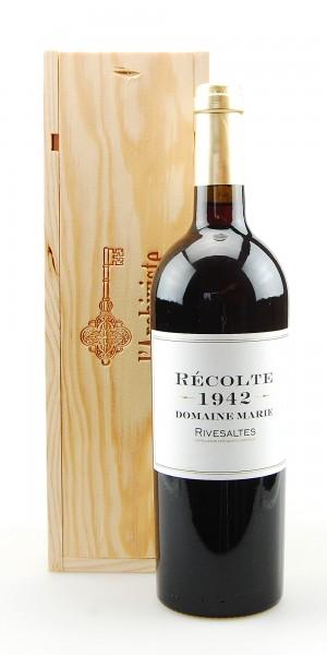 Wein 1942 Rivesaltes Domaine Marie