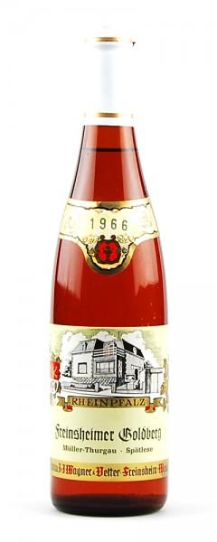Wein 1966 Freinsheimer Goldberg Spätlese Müller-Thurgau