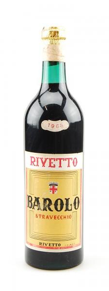 Wein 1968 Barolo Rivetto Stravecchio