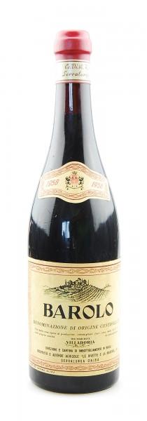Wein 1958 Barolo Marchese Villadoria