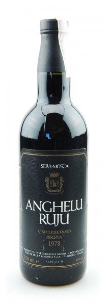 Wein 1978 Anghelu Ruju Riserva Vino Liquoroso Sella e Mosca