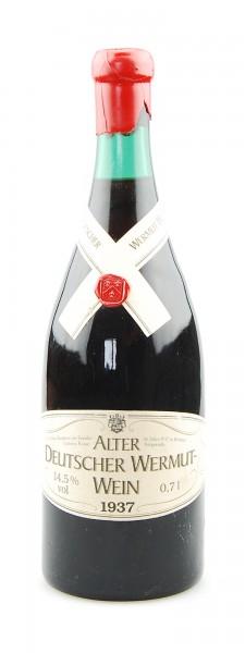 Wein 1937 Alter Deutscher Wermut-Wein