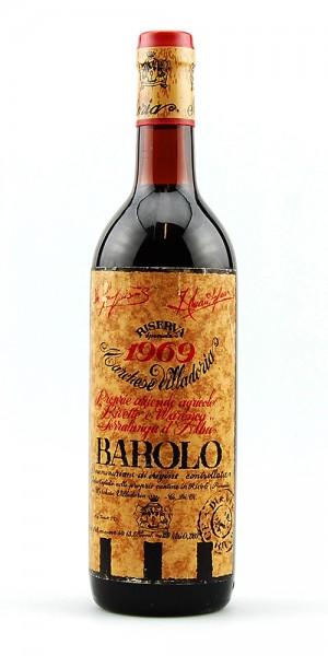 Wein 1969 Barolo Marchese Villadoria Riserva Speciale