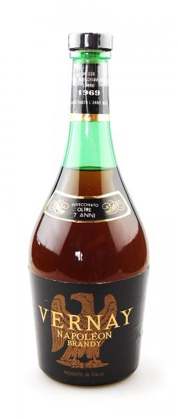 Brandy 1969 Vernay Napoleon Sangalli oltre 7 Anni