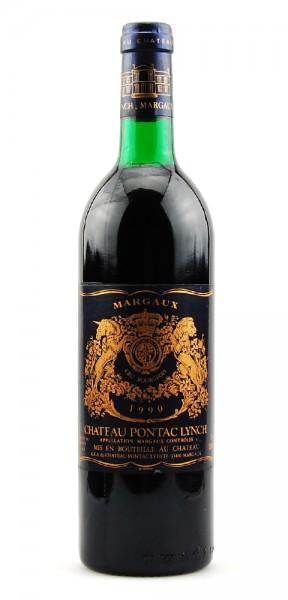 Wein 1990 Chateau Pontac Lynch Appelation Margaux
