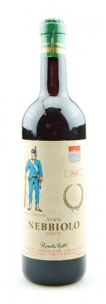 Wein 1969 Nebbiolo Casa del Vino di Alba Ratti