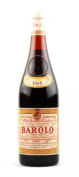 Wein 1967 Barolo Giacomo Damilano