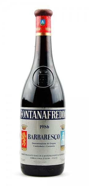 Wein 1986 Barbaresco Fontanafredda