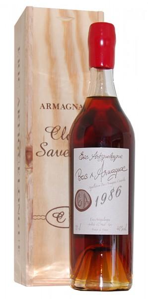Armagnac 1986 Bas-Armagnac Clos des Saveurs