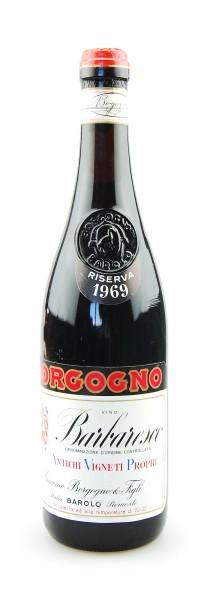 Wein 1969 Barbaresco Riserva Giacomo Borgogno