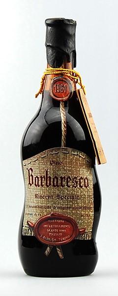 Wein 1961 Barbaresco Bertolo Riserva Speciale