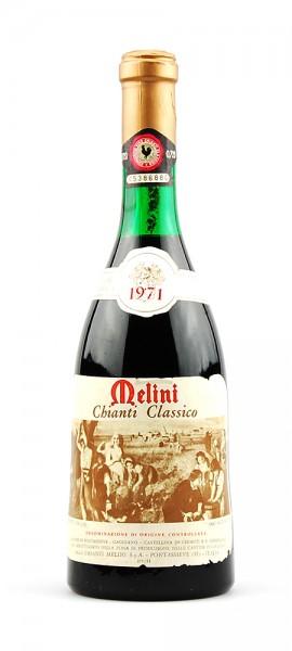 Wein 1971 Chianti Classico Melini