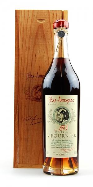 Armagnac 1943 Bas-Armagnac Baron Fournier