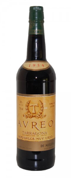 Wein 1954 De Muller AUREO Semi-Dulce muy Vieho