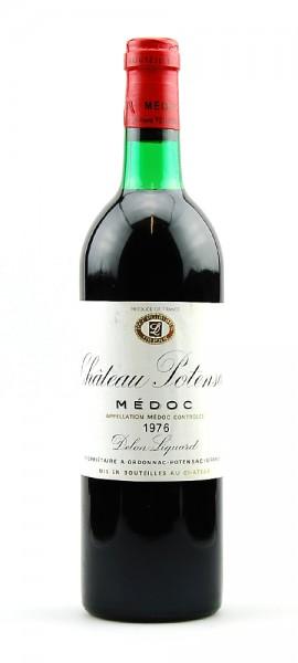 Wein 1976 Chateau Potensac Cru Bourgeois Medoc