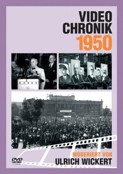 DVD 1950 Chronik Deutsche Wochenschau in Holzkiste