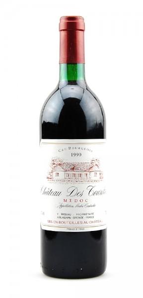 Wein 1990 Chateau Des Tourelles Medoc Cru Bourgeois