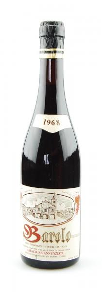 Wein 1968 Barolo Abbazia S.S. Annunziata
