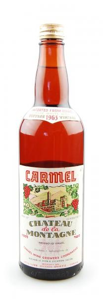 Wein 1963 Chateau de la Montagne Carmel