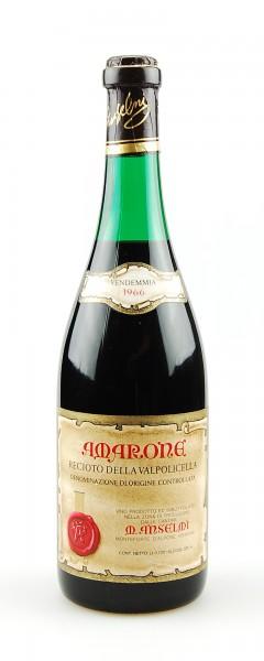 Wein 1966 Amarone Recioto della Valpolicella Anselmi