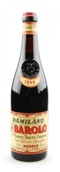 Wein 1959 Barolo Giacomo Damilano